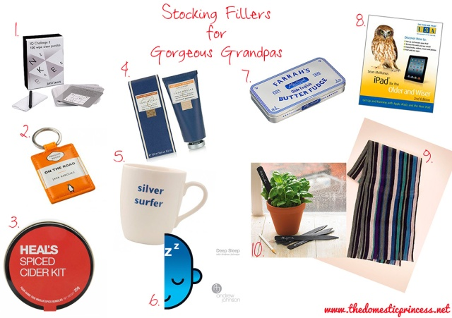Stocking Fillers for Gorgeous Grandpas