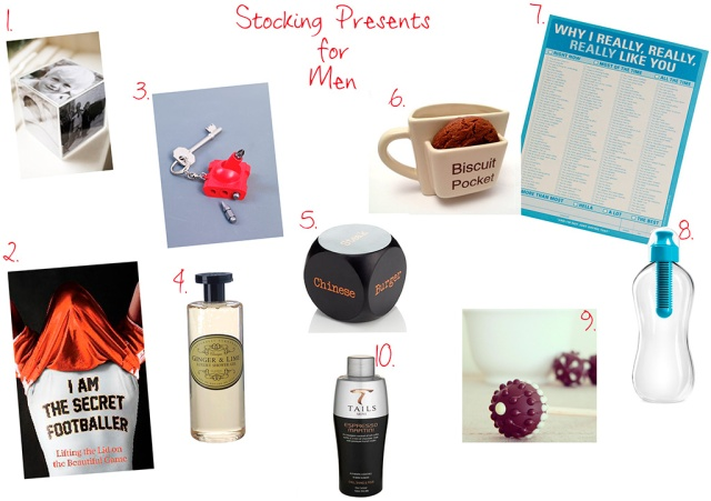 Stocking Fillers for Men