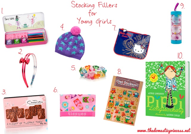 Stocking Fillers for Young Girls