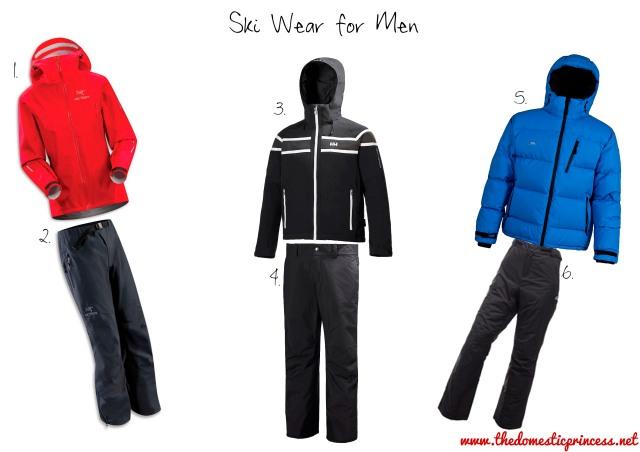Ski Wear for Men