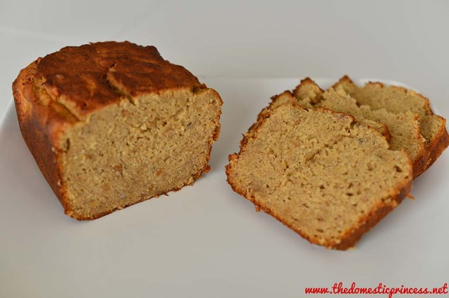 Banan & peanut butter bread